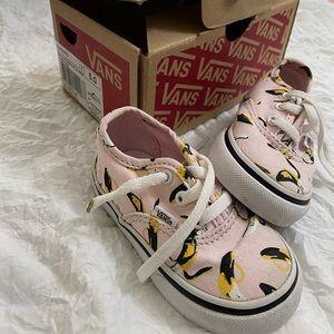 Vans banana shoes
